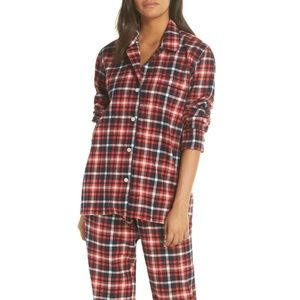 NEW J Crew Cotton Flannel Plaid Pajamas